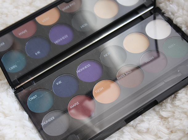 sleek ultra matt v2 eyeshadow palette