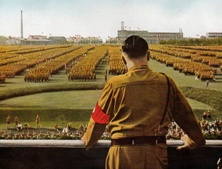 What effect did Britain, France, USA, USSR do to stop Hitler.?