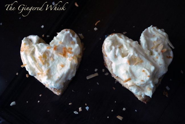 The Gingered Whisk: Toasted Coconut Shortbread Cookies with Pineapple ...