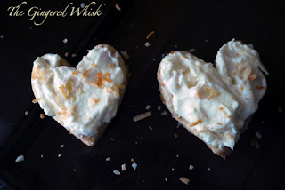 Toasted Coconut Shortbread Cookies with Pineapple Cream - The Gingered ...