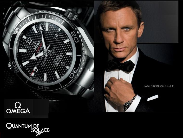 Daniel Craig James Bond Omega Watch