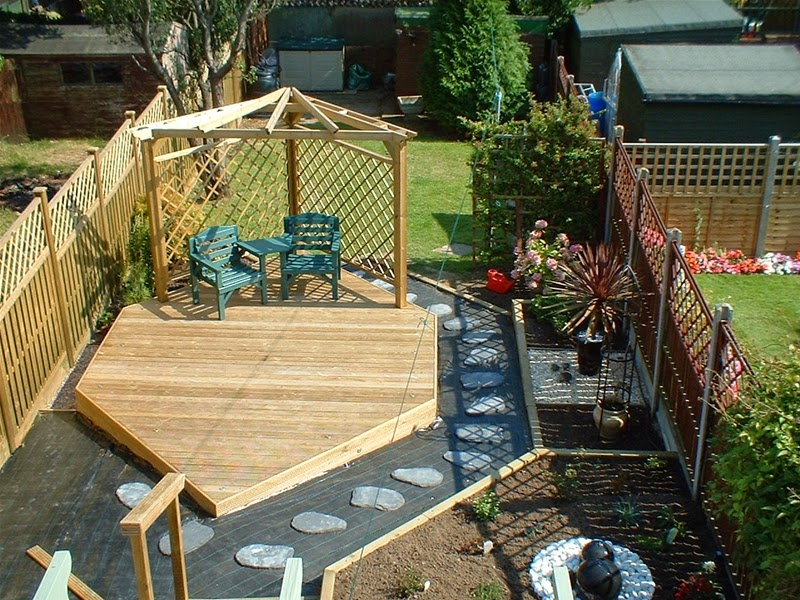 Delightful Garden Improvements, Decking