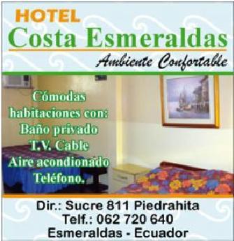 Hoteles en Esmeraldas
