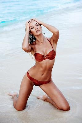 Candice Swanepoel Paola and Murray sexy bikini model photoshoot