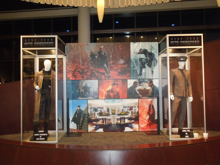 Star Trek Into Darkness movie costume exhibit