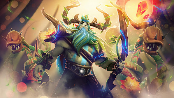 natures prophet primeval furion set dota 2 game hd