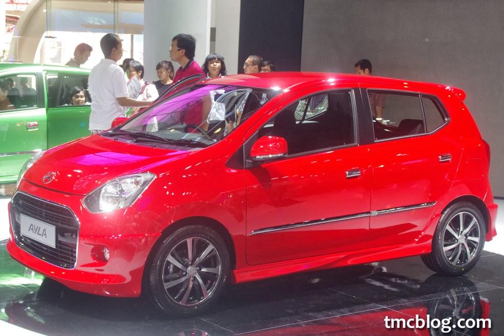 Mobil Daihatsu Ayla dan Spesifikasi Lengkap Harga