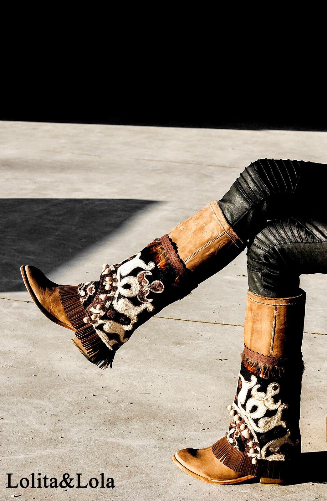 cubrebotas boho ibiza cover boots