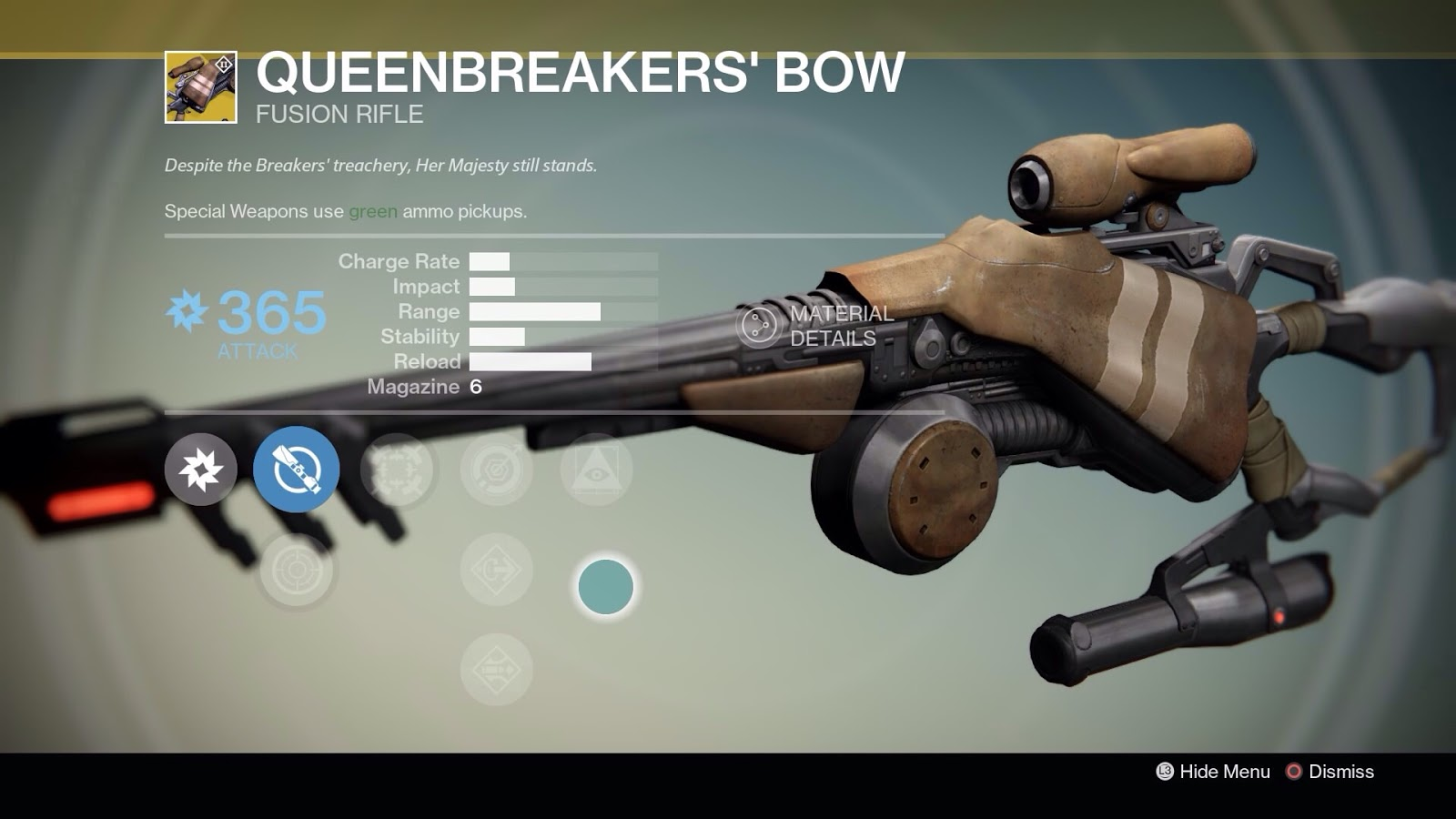 Best destiny primary weapons as of july 2015 - So We Ll Start With The Queenbreakers Bow Which Was My Least Favorite Of The New Weapons It Is An Arc Damage Sniper Fusion Hybrid With Two Types Of Scopes