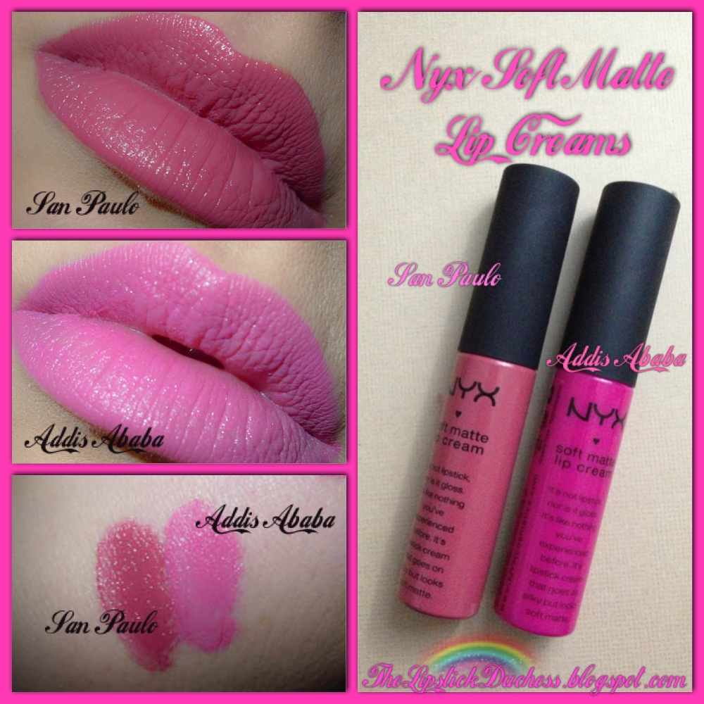 The Lipstick Duchess Nyx Soft Matte Lip Creams Review And Swatches