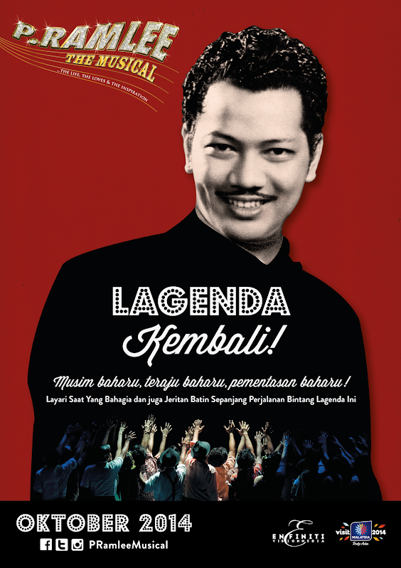 P.RAMLEE THE MUSICAL 2014