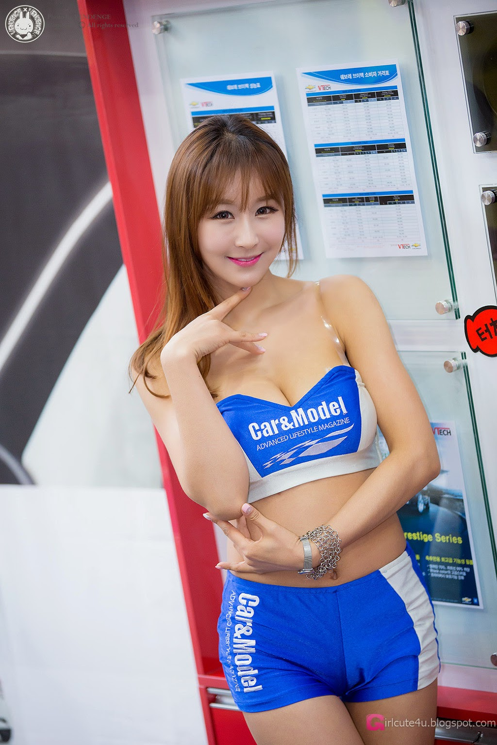2 Seo Yoon Ah - Automotive Week - very cute asian girl-girlcute4u.blogspot.com