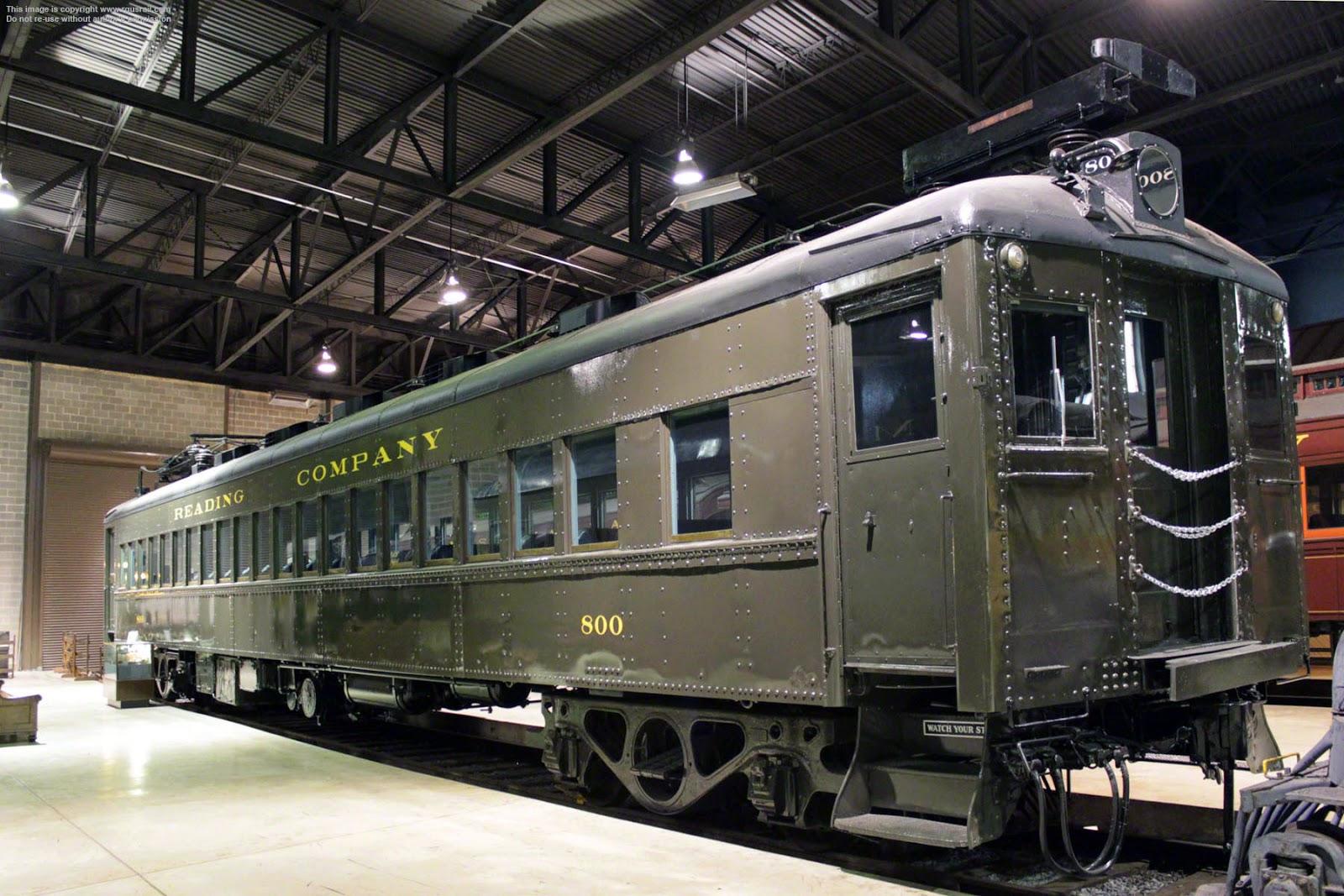 Transpress Nz Reading Railroad Electric Commuter Train