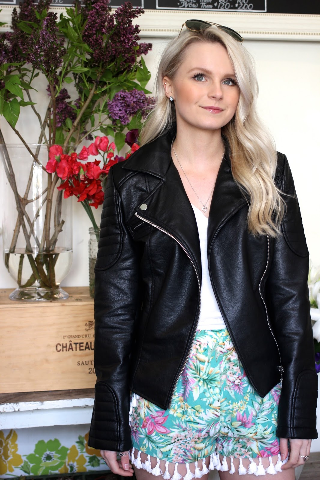 how to style a leather jacket