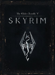 Skyrim official cover art