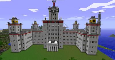 Minecraft - как построить лифт