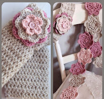 Fabulous Flat Crochet Flower Tutorial