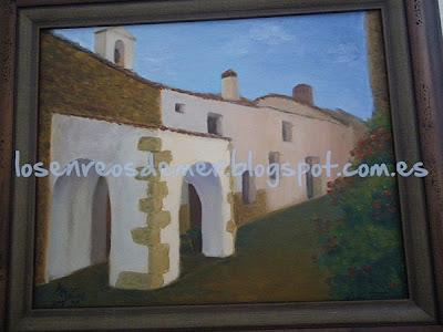 Ermita de San Antonio - Óleo sobre lienzo