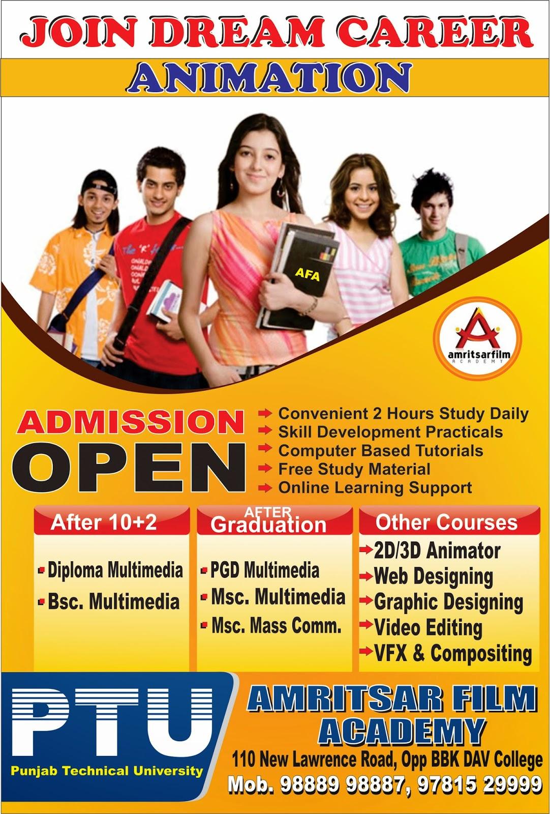 Sunil Grafix World Education Institute Flyer