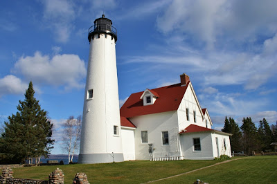 Point Iroquois LIghtstation, Bay Mills, MI
