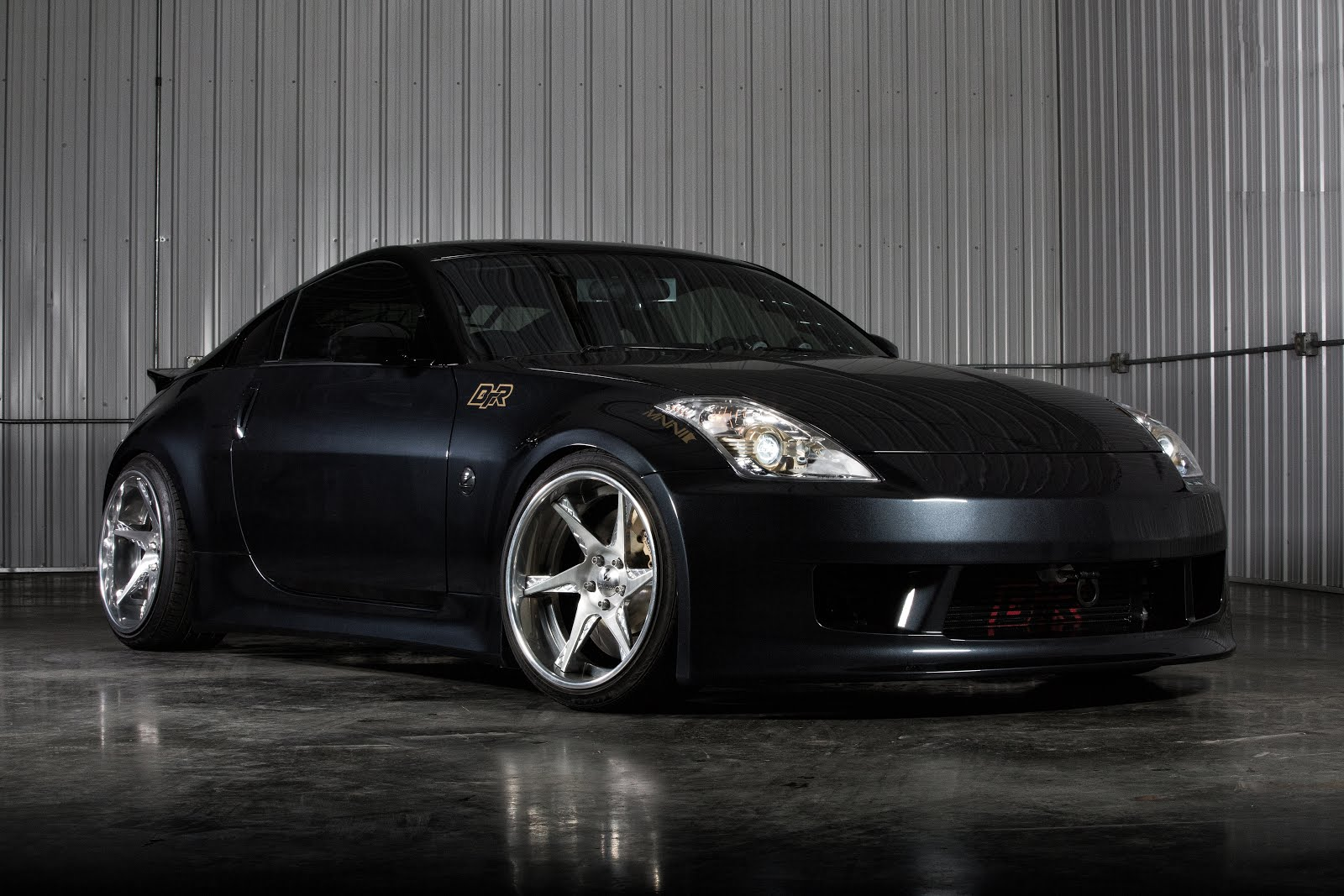 what we 39 ve done to the nissan 350z black top racing info. Black Bedroom Furniture Sets. Home Design Ideas