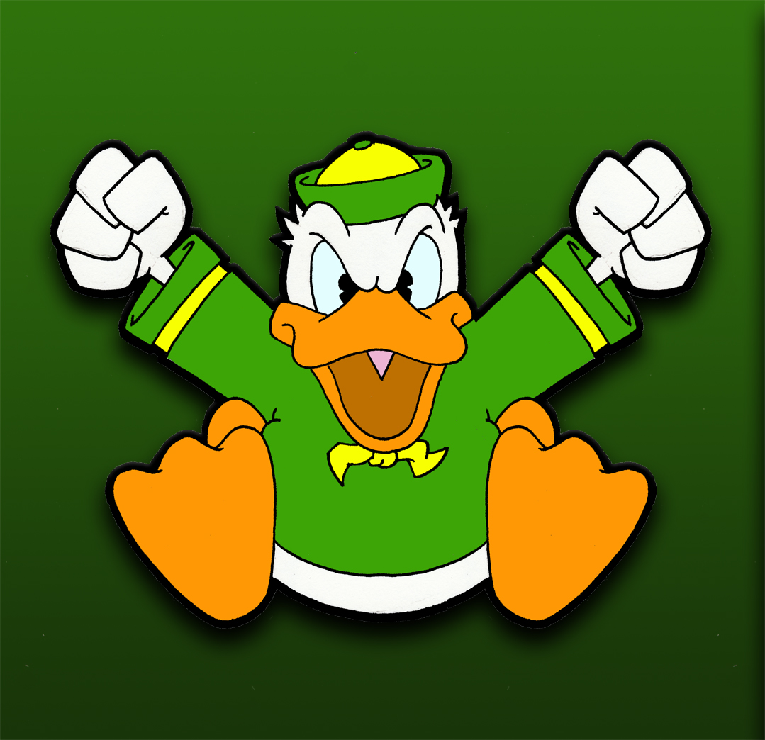 Donald Duck Angry
