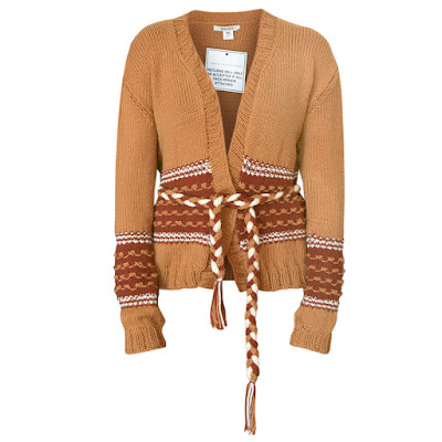rodarte belted merino wool cardigan sweater