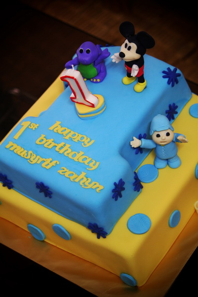 Rizq Cakes 1 year old birthday