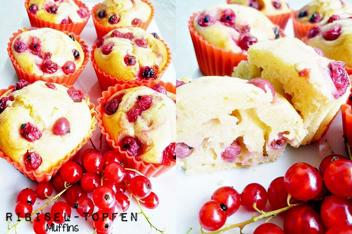 Ribisel-Topfenmuffins