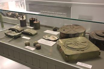 Minas terrestres - Museo de la Guerra - Saigon