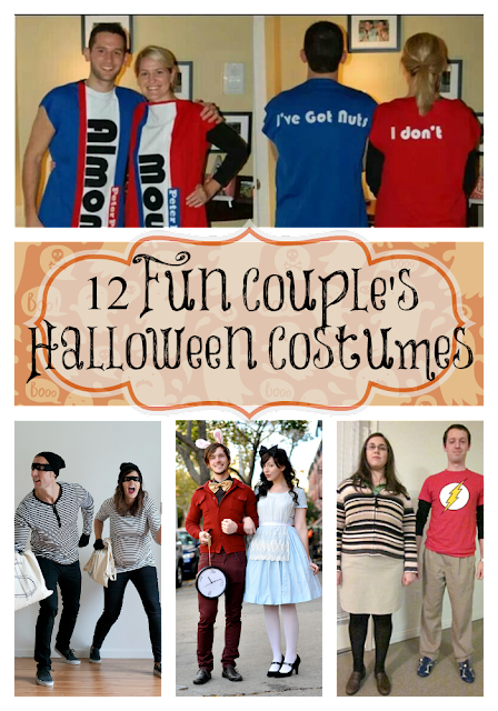These couples Halloween costume ideas are fun and easy to make! You'll be the star of the Halloween costume contest with these fun adult Halloween costume ideas!