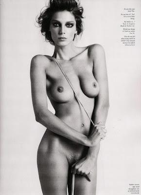 Amber Valleta's Nude Magazine