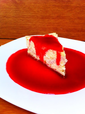 Raspberry NY Cheesecake