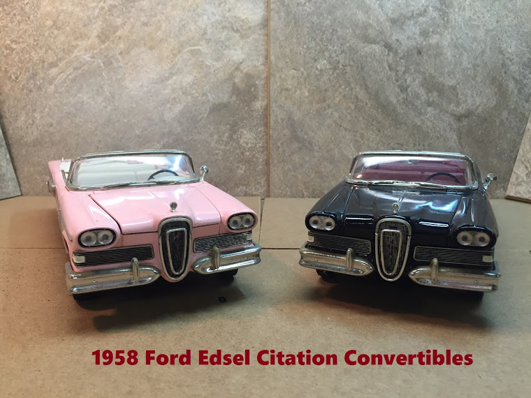 Two 1958 Ford Edsel Citation Convertibles ~
