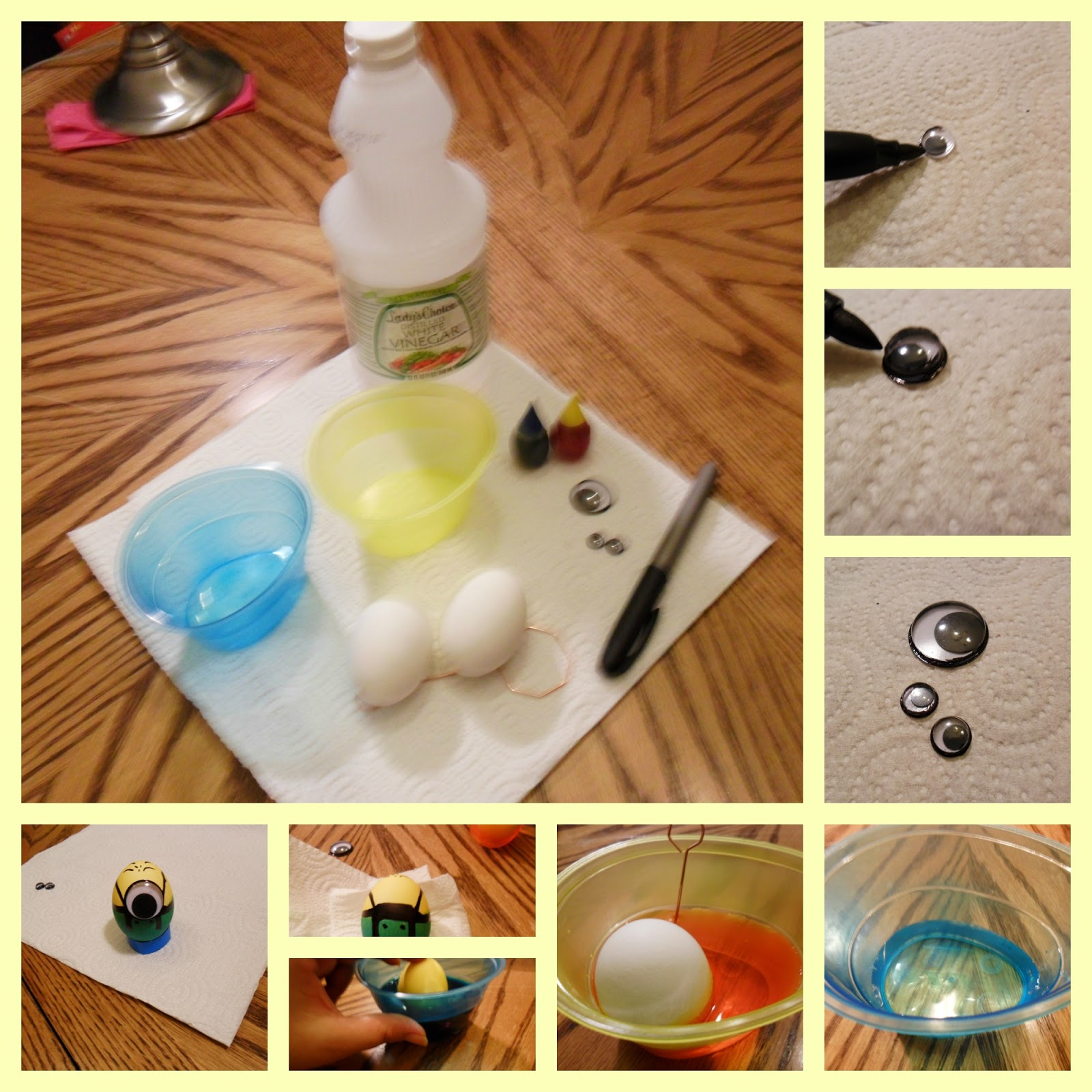 Family Fun and Easter Eggs crafting! (Tutorial)