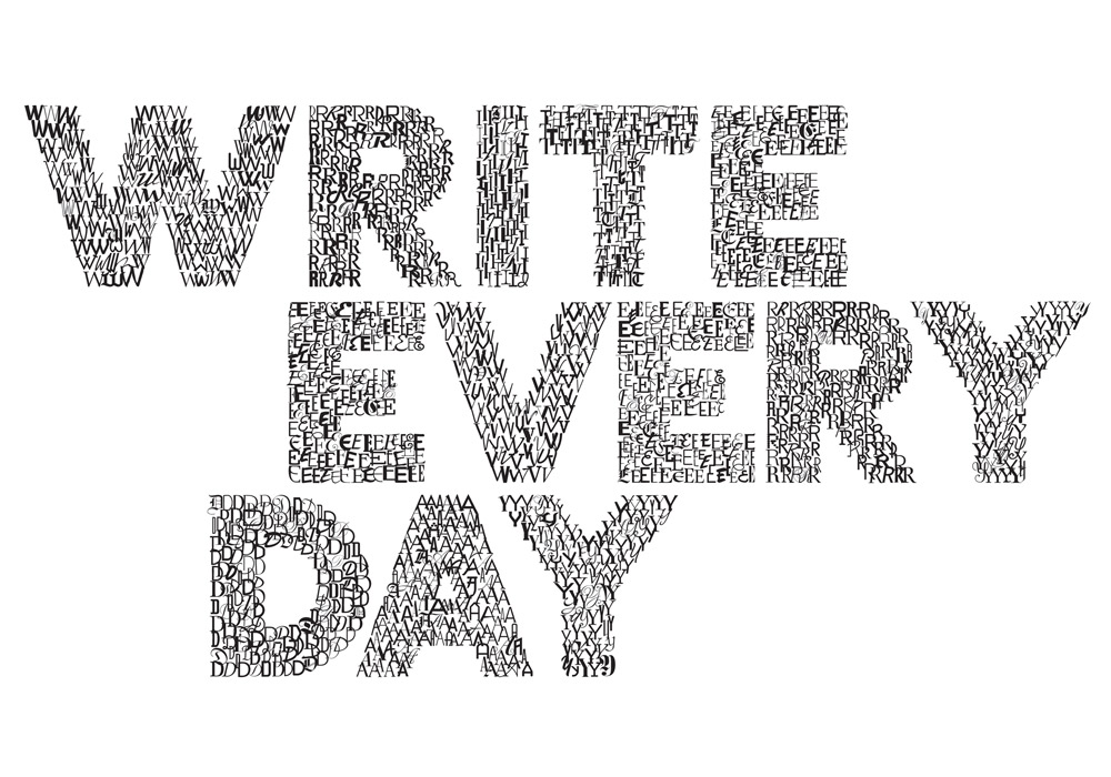 writing every day Writer and editor lucy benton gives five very good reasons for writing every day,  and how sticking to this routine can help both your writing.
