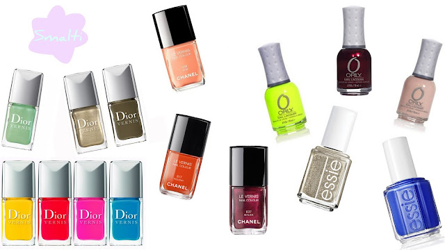 migliori prodotti beauty make up 2012 smalti chanel dior orly essie