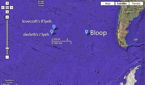 Julia sound equatorial Pacific Ocean