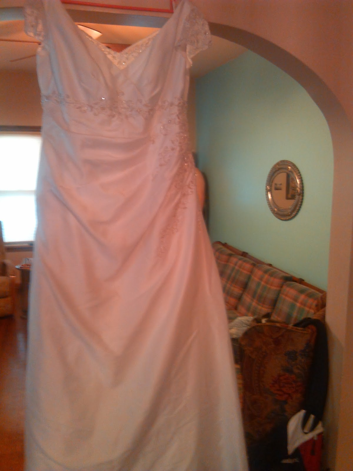 This One Is A Size 20 Davids Bridal Dress And Was 2675 At Goodwill