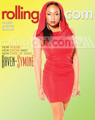 >Raven Symoné en couv' de Rolling Out