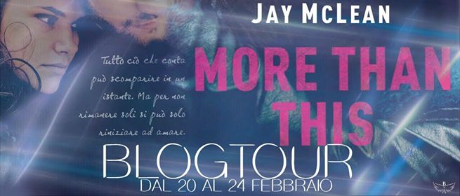 BlogTour : More than this di Jay McLean