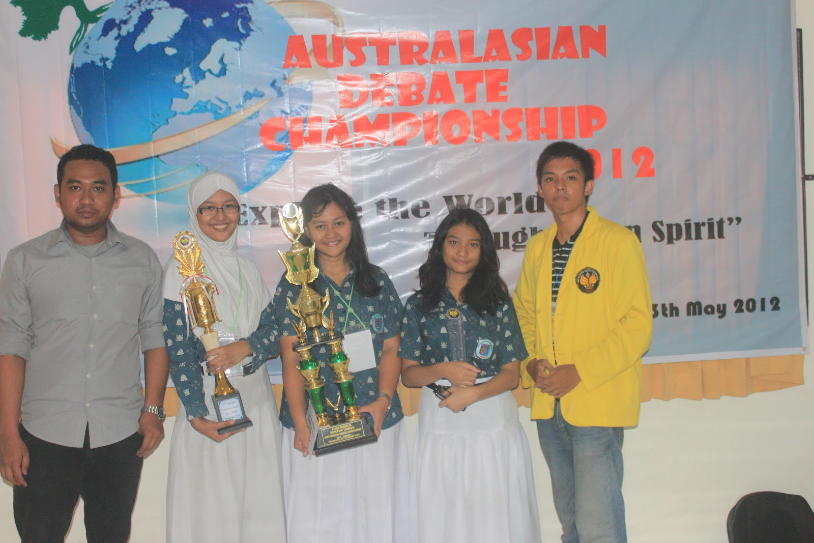 Congratulation for the Champion of ADC 2012 SMA N 3 SEMARANG