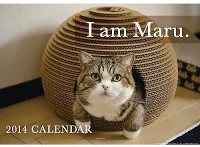2014 calendar - I Am Maru