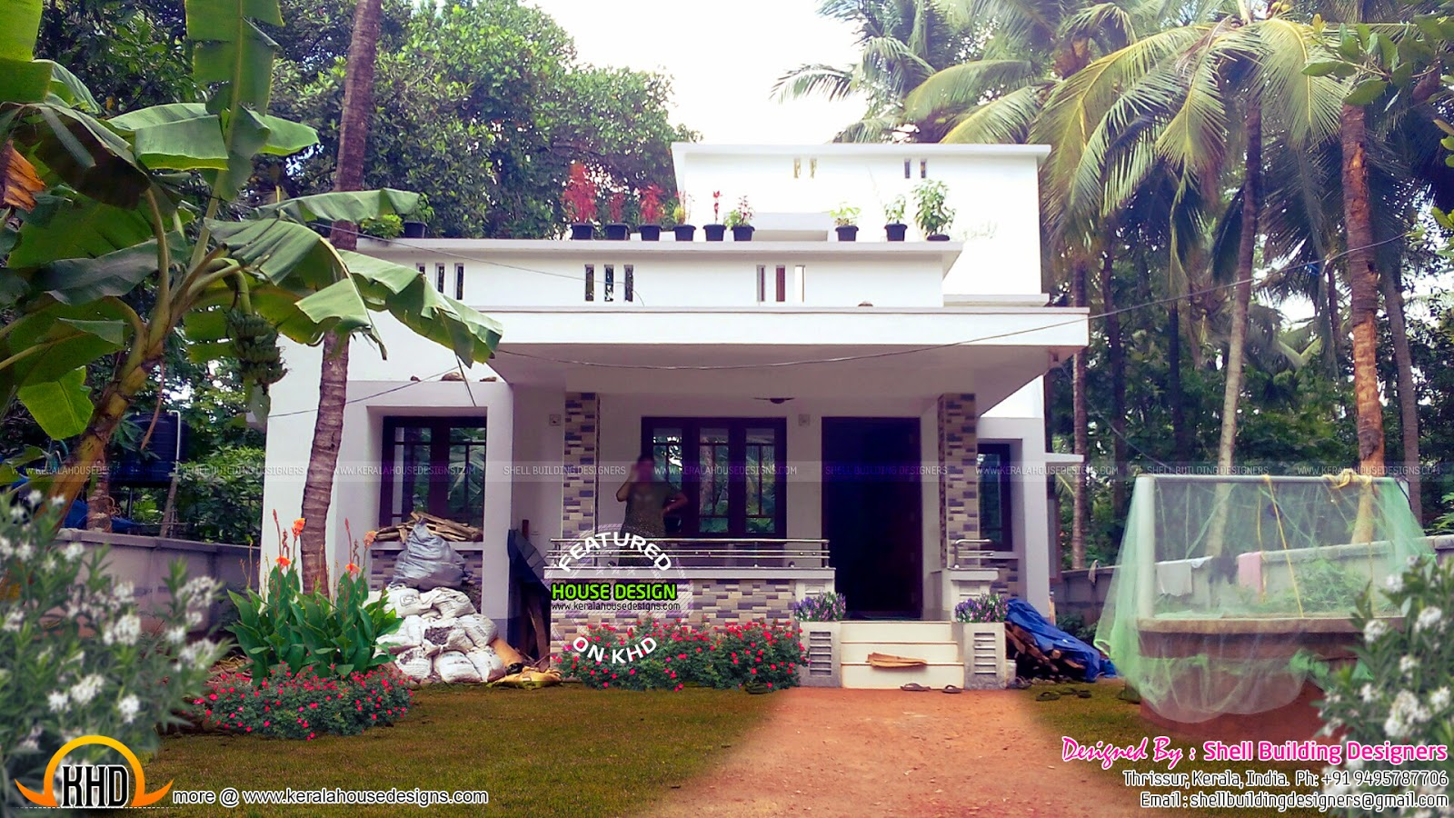 1477 square feet one floor home kerala home design and for One floor house images
