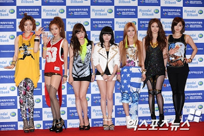 t-ara 2012 Dream Concert Red Carpet