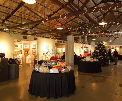"Atrium Exhibit ""Handcrafted for the Holidays"" at Studios on the Park, Paso Robles, © B. Radisavljevic"
