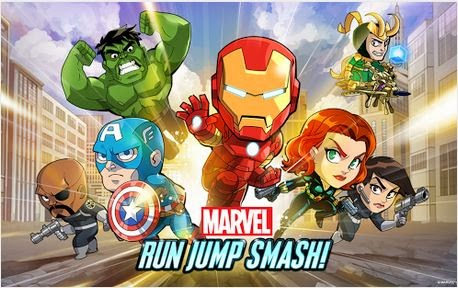 [Games] Marvel Run Jump Smash APK v1.0.3 FULL