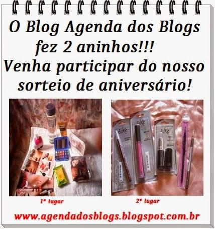 Sorteio Agenda dos blogs