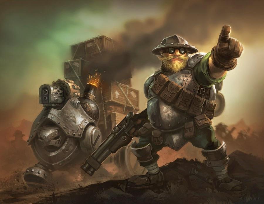 narrator of war machine