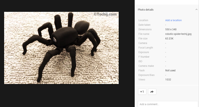 Robotic Spider techij